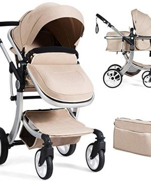Baby Stroller Foldable Pram Carriage