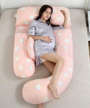 Back Pain Relief Pregnancy Pillow U-Shape
