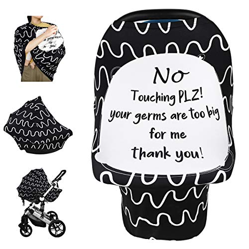 Car Seat Covers for Babies, Nursing Breastfeeding Cover