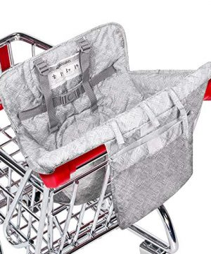 Baby Shopping Cart Cover, Grocery Cart Seat Cover for Toddler and Kids