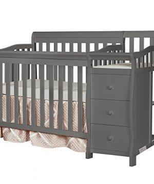 Dream On Me Jayden 4-in-1 Mini Convertible Crib