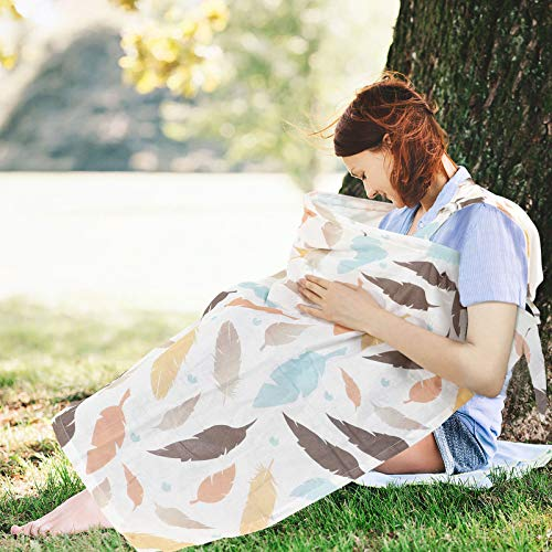 Nursing Covers Open Neckline Privacy Feeding for Mother Babies