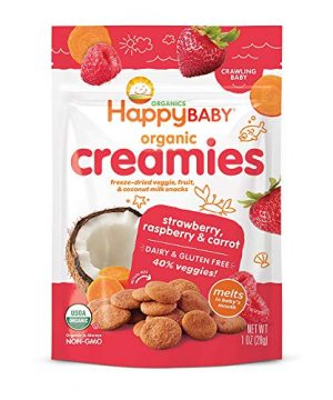 Happy Baby Organic Creamies Freeze-Dried Veggie