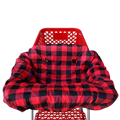 Shopping cart Covers for Baby   High Chair and Grocery Cover for Babies