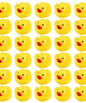 Mini Rubber Ducky Float Duck Baby Bath Toy