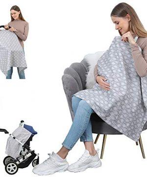 100% Cotton Breastfeeding Nursing Cover