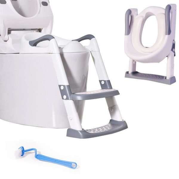 Potty Training Toilet Seat,with Step Stool Ladder for Kid and Baby
