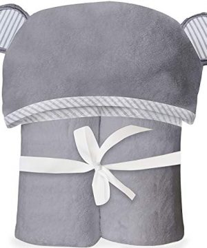 Babies, Toddlers Soft Bamboo Hooded Baby Towel