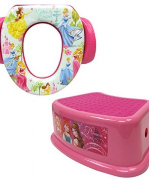 Disney Princess Potty Training Combo Kit - Contour Step Stool