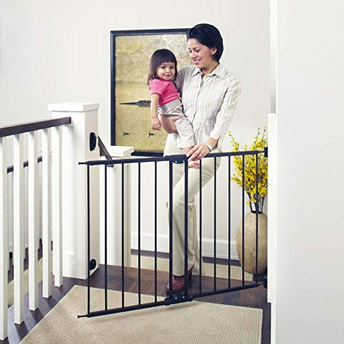 """Toddleroo by North States 47.85"""" Wide Easy Swing, Lock Baby Gate"""