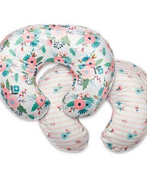 Boppy Cozy Nursing Pillow Cowl, Pink Floral Duet