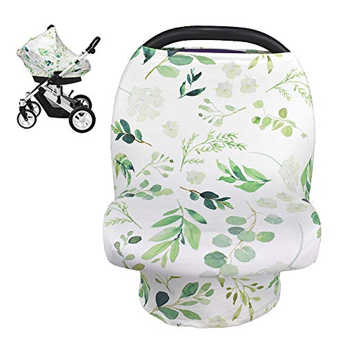 Nursing Cover Breastfeeding Scarf, Car Seat Covers for Babies
