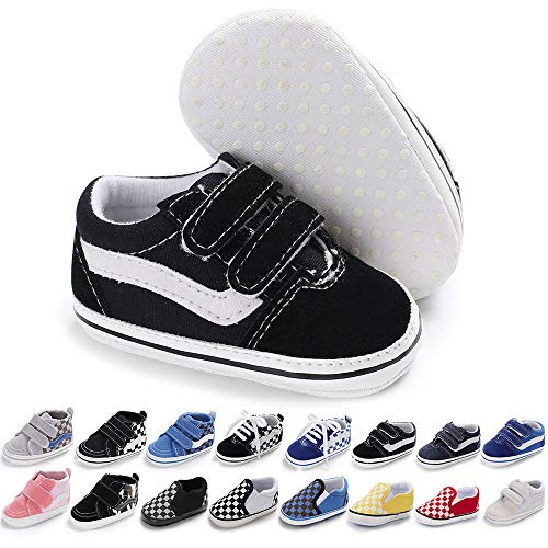Meckior Infant Baby Boys Girls Canvas Sneakers
