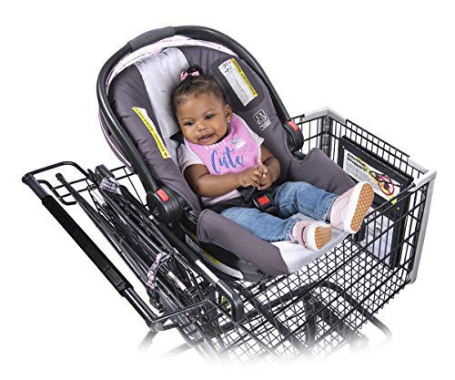 Totes Babies Shopping Cart Car Seat Carrier for Baby Newborns