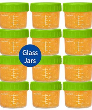 Glass Baby Food Storage Containers 4 oz Glass Baby Food Jars