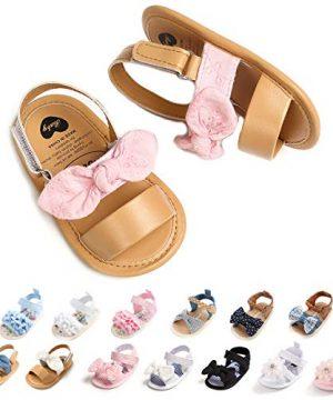 Ohwawadi Baby Girls Sandals Soft Summer Baby