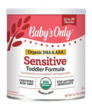 Baby's Only Organic LactoRelief with DHA, ARA Toddler Formula