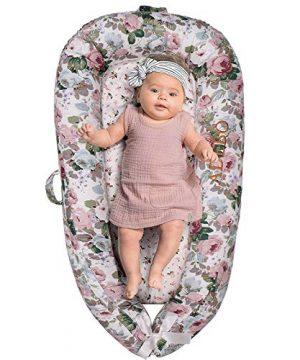 Adebo Premium Baby Nest(La Vie en Rose)-Portable Baby Lounger