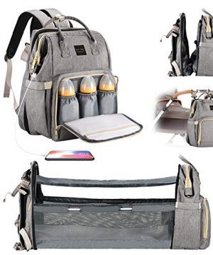 Diaper Bag Backpack with Changing Station, Backpacks for Babies
