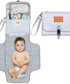 Baby Diaper Changing Pad - Portable Waterproof Diaper Changing Mat