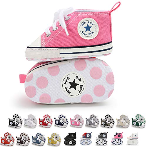 Tutoo Unisex Baby Boys Girls High Top Sneaker Soft