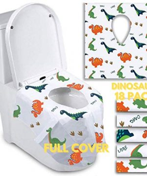 Disposable Toilet Seat Covers for Toddlers - Individually Wrapped
