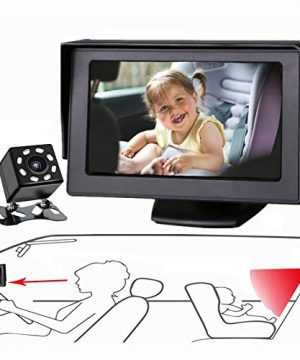 Baby Mirror for Car, Back Seat Baby Car Camera with Night Vision