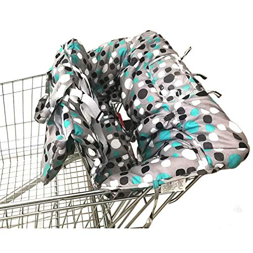Shopping Cart Cover   High Chair and Grocery Cart Cover for Babies