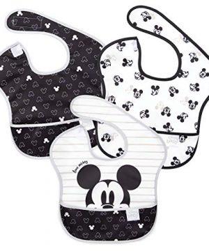 Bumkins Disney SuperBib, Baby Bib, Waterproof, Washable