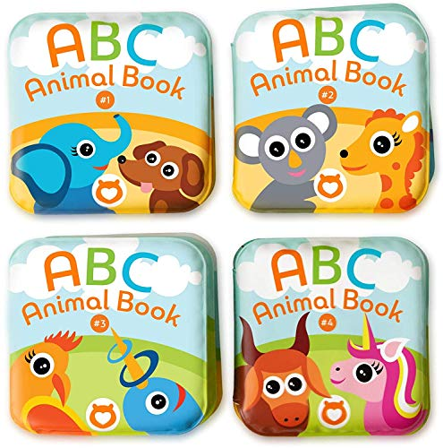 Floating Baby Bath Books. Kids Learning Bath Toys.