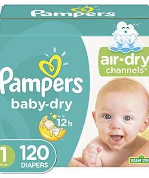 Diapers Newborn Pampers Baby Dry Disposable
