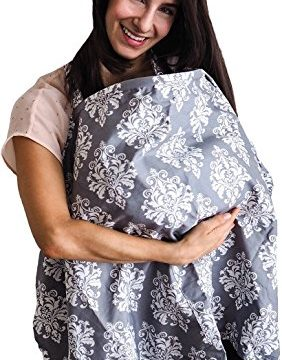 Baby Breastfeeding Apron and Wide Privacy Feeding Hider for Moms