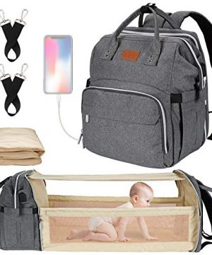 Baby Diaper Bag, Diaper Bag with Changing Station