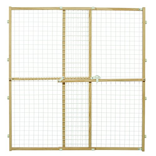 Midwest Wire Mesh Pet Safety Gate, 44 Inches Tall