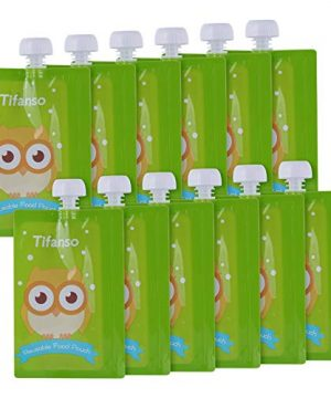 Organic Baby Food Squeeze Storage Pouches