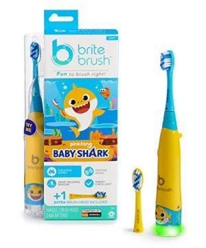 Smart Kids Toothbrush featuring Baby Shark