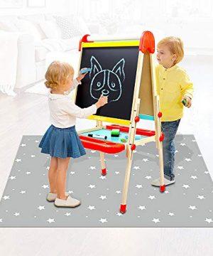 Avikoit Washable Table Cloch, Anti- Slip Splat Mat
