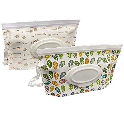 Joyous Journey Portable Wet Wipe Pouch Bags Set