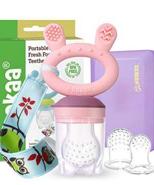 Baby Fruit Food Feeder Pacifier - Haakaa Silicone Feeder
