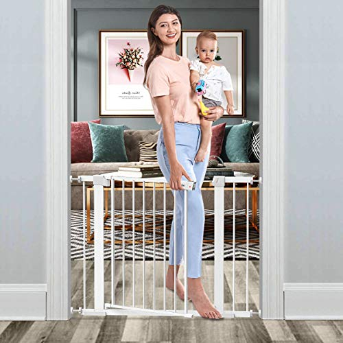 """Tokkidas Auto Close Safety Baby Gate, 29.5""""-40.6"""" Extra Wide Tall"""