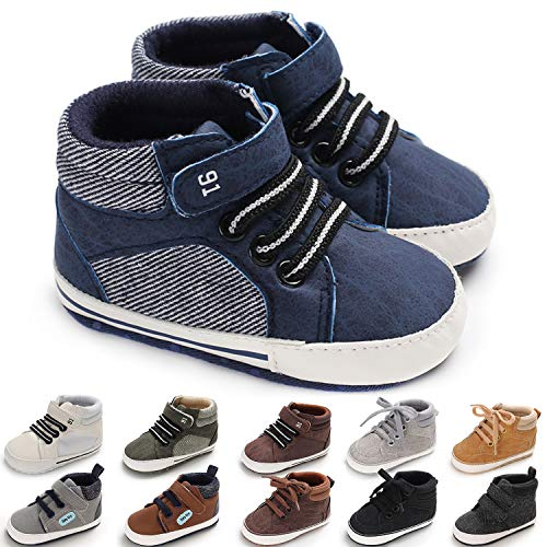 KaKaKiKi Baby Boys Girls Ankle High-Top Sneakers Shoes