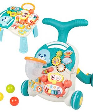 Baby Walkers for Boys and Girls - Sit-to-Stand Learning Walker