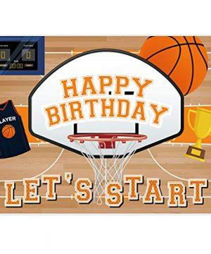 Allenjoy 7x5ft Vinyl Basketball Themed All Star Backdrop Supplies for Boys