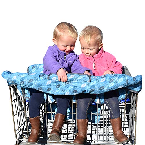 Double Shopping Cart Cover - Twins Shopping Cart Cover