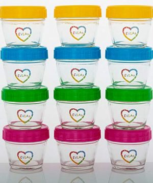 Baby Food Storage Containers for Storing Food or Breastmilk Formula