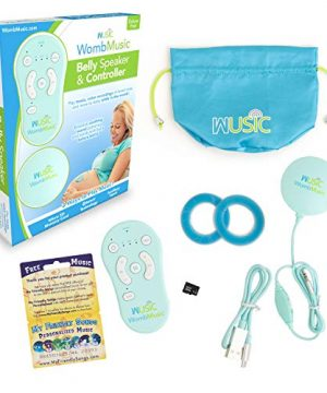 Womb Music Deluxe Baby-Bump Headphones with Bluetooth Controller