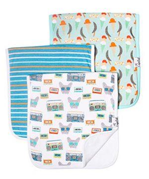 Baby Burp Cloth Large 21''x10'' Size Premium Absorbent