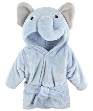 Baby Unisex Baby Plush Animal Face Robe