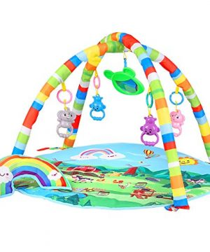 Baby Gym and Infant Play Mat for Newborn