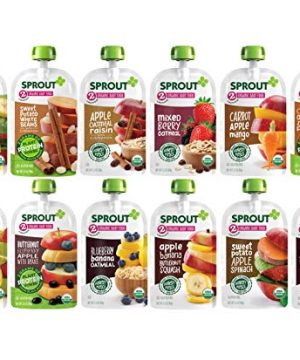 Sprout Organic Baby Food, Stage 2 Pouches